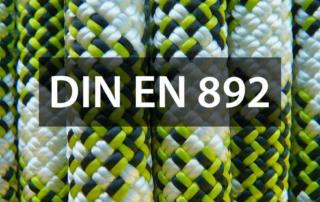 Anforderungen der DIN EN 892 an Kletterseile