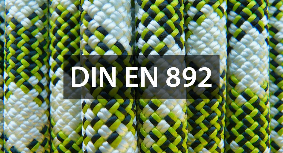 Die DIN EN 892 beschreibt die Anforderungen an dynamische Kletterseile (Foto: Hans Braxmeier/Pixabay).